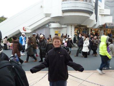 It's snowing at Disneyland!!