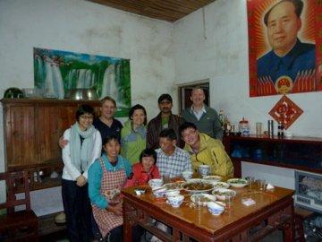 Dinner at Mr Jiang's