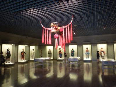 Costume gallery in the Museum
