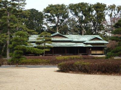 Tea House, Palace gardens