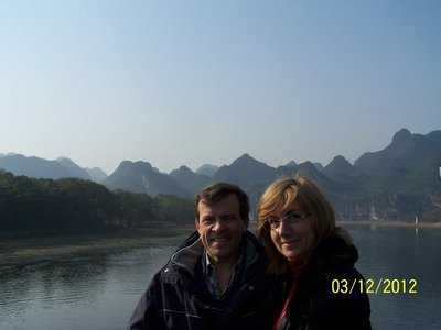 Río Li, Guilin, China