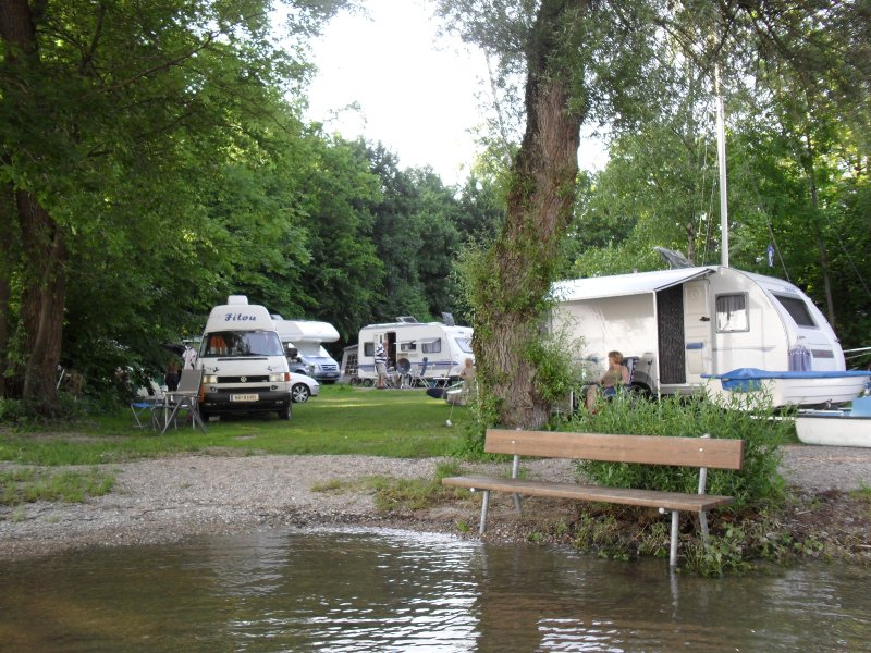 Seehaust Campsite by Lake Chiemsee