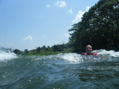 Floating down the Nile