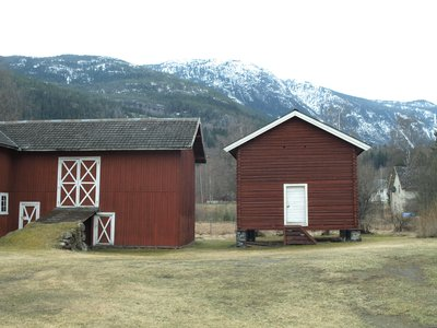Typical Farm Look in Norway