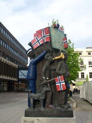 Statue in Sandefjord