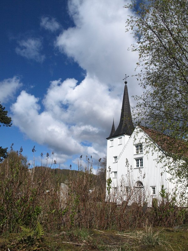 A church near Sokndal