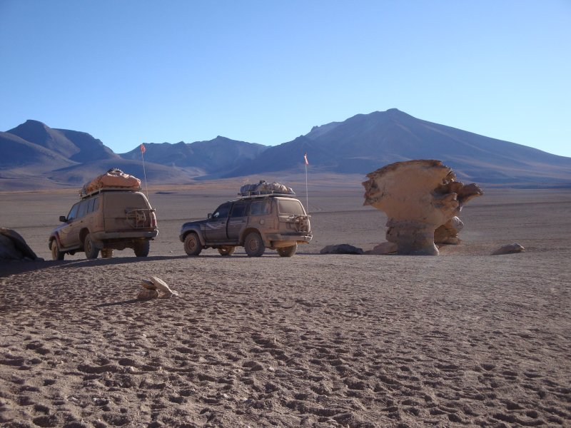 4x4 in Bolivia