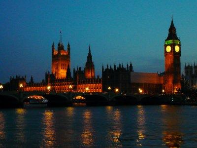 Nighttime London