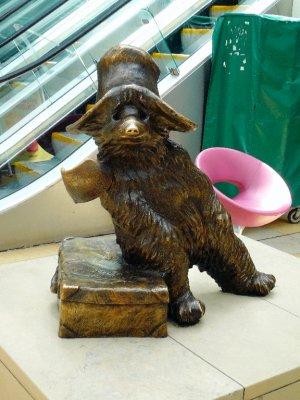 Paddington Bear in Paddington Station
