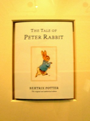 Peter Rabbit originals! Beatrix Potter lived relatively close by...