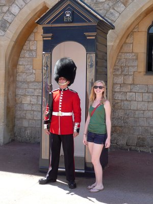 Me and my guard friend