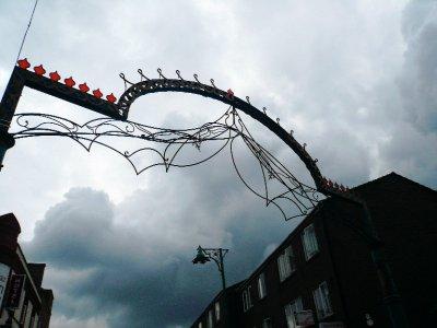 Entrance to Brick Lane