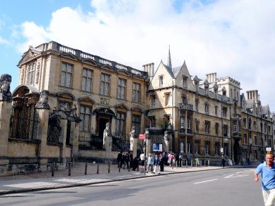Oh, just where much of the Oxford English Dictionary was compiled!