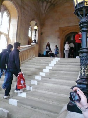 HARRY POTTER GRAND STAIRCASE!