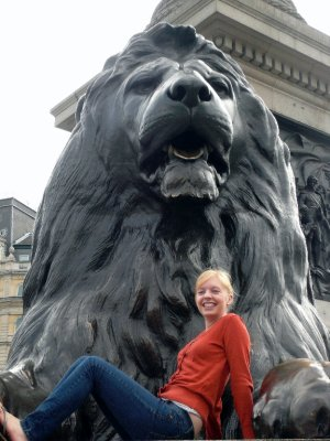 When I conquered the Lion.