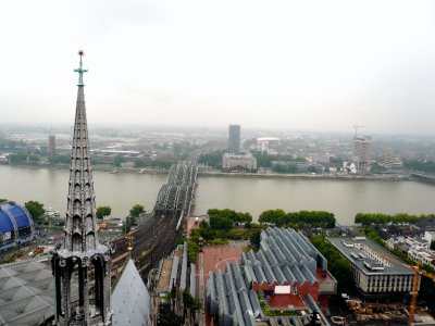 View from the top of 533 steps in the Dom.