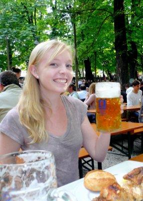 1 Liter Beer!