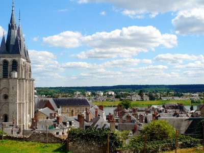 Overlooking Blois