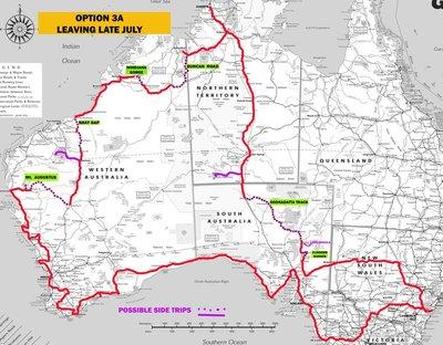 Proposed 2017 Trip 3B Map