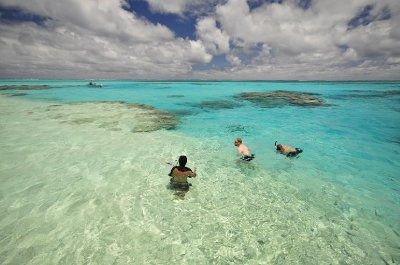 Aitutaki Lagoon snorkelling