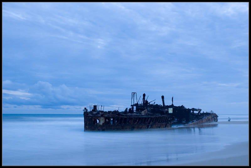 SS Maheno, Fraser Island, Australia