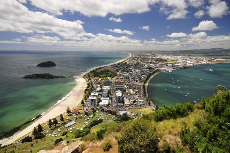 mount manganui, new zealand