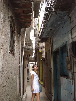 Alleys of the favela
