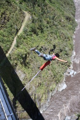 Still can´t belive that Laura jumped from a 75 meter bridge...