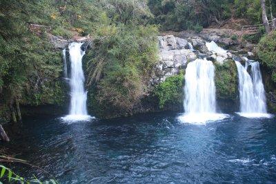 Twin waterfalls!
