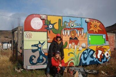Ana and her hippie caravan!