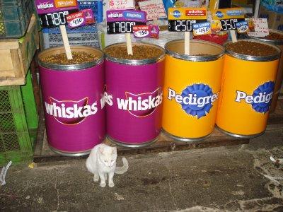 Whiskas om katten sjalv far valja!