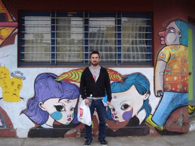 more art street and Enrique!