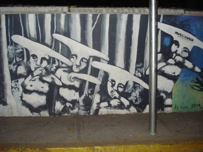 coolest black and white graffitti