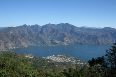 View of Lake Atitlan