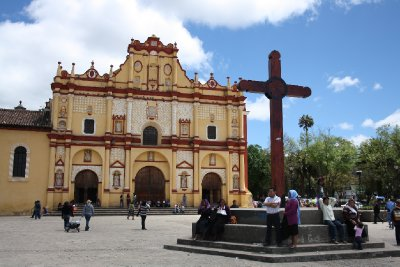 Church in San Cristobal de las Casas