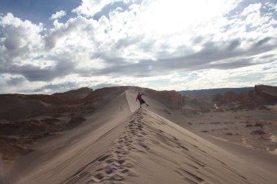 Henrik on the dunes