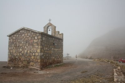 Foggy top and the church