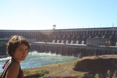 Damn that´s a big dam! Also managed to ask the guide if this was a god...dam!