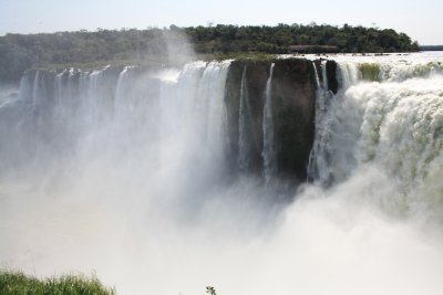 Another part of the Garganta del Diablo which is the biggest fall in Iguazu