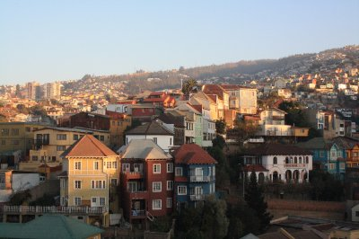 Some nice houses in Valparaiso