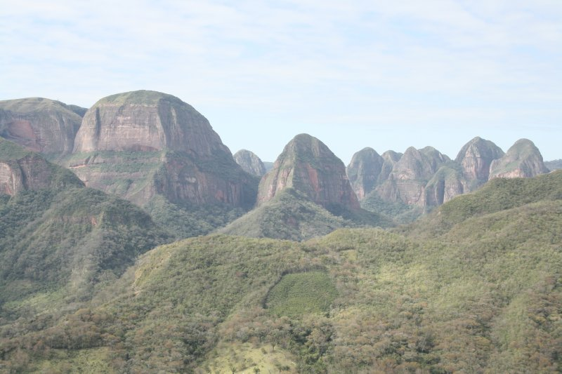 Park nacional Amboro...Volcano side