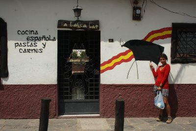 We found this amazing Spanish restaurant, this was however as close we got to the food, prices was pretty steep