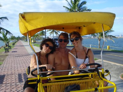 Tricycle tour in Panamá City