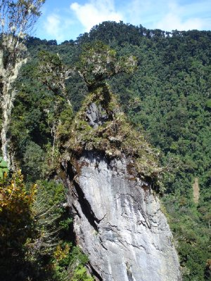 Quetzal trek, after crossing one of the rivers