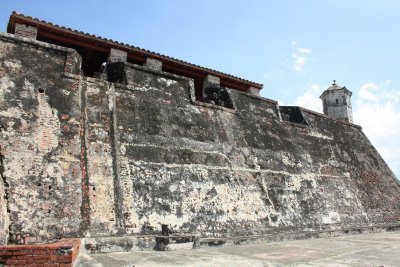 Pretty impressive walls on this old fort