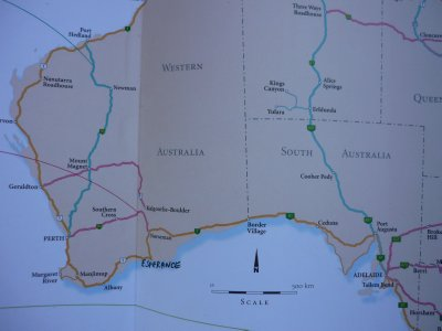 Perth to Adelaide including Nullarbor Plains (Eyre Hwy)
