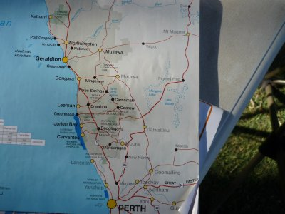 Kalbarri to Perth