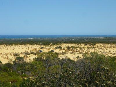 the Pinnacles desert drive - 4 kms.