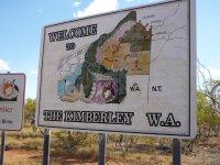 the border NT to WA