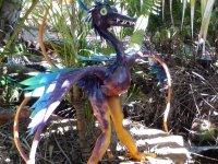 unusual sculpture at 'Parrotiso'